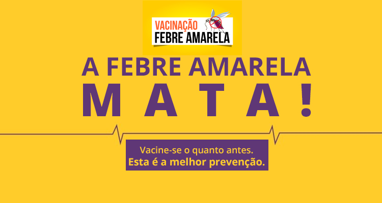 Febre amarela: risco se aproxima e Ministério alerta para a vacinação